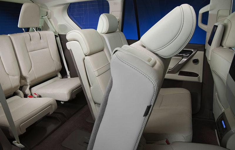 Третий ряд сидений на Lexus GX 460