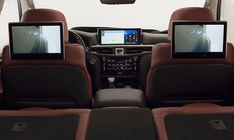 Lexus LX570 XL470 третий ряд сидений