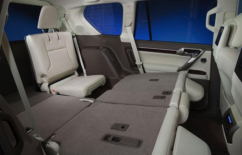 Третий ряд сидений для Lexus GX 460