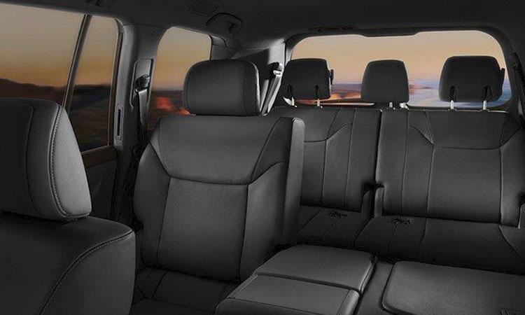 Сидения третьего ряда Lexus LX 570