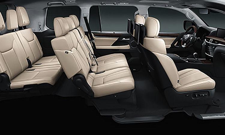 Lexus LX570 XL470 установить третий ряд сидений
