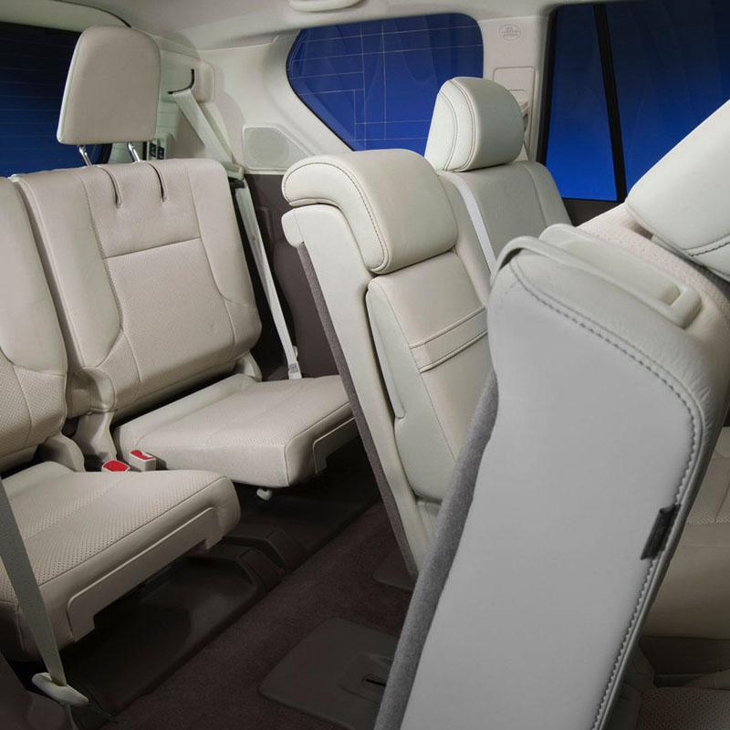 Третий ряд сидений Lexus GX 460