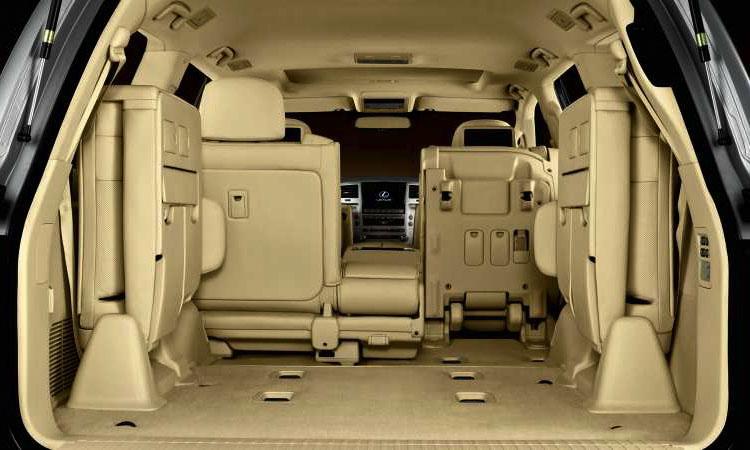 Lexus LX570 установить третий ряд сидений