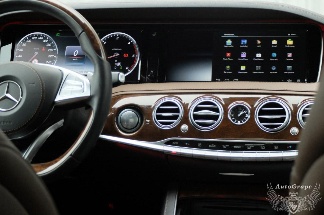Вывод изображения на штатный монитор Mercedes