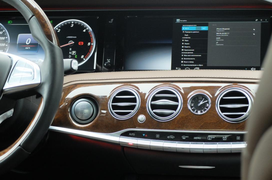 Вывод изображения Android на штатный монитор Mercedes