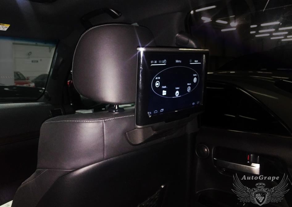 Монитор для заднего пассажира Toyota Cruiser