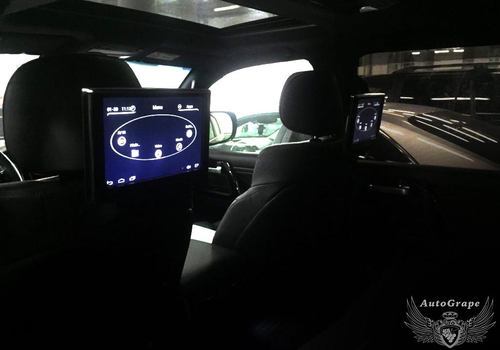 Мониторы для задних пассажиров Toyota Cruiser