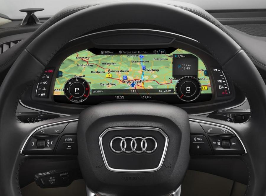 Навигация Audi Q7 MIB2