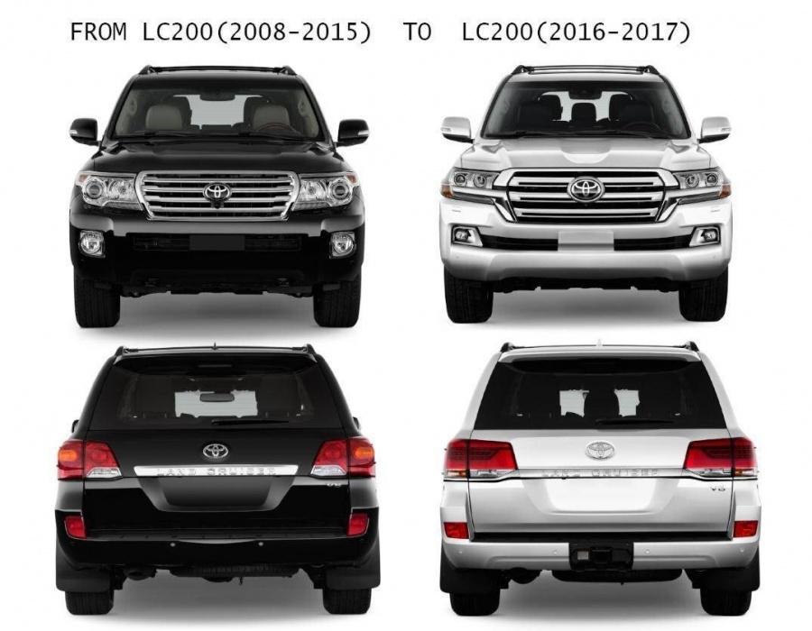 рестайлинг тойота ЛС200