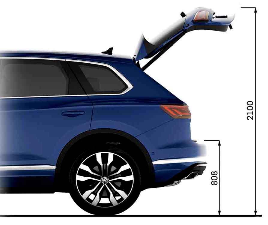 Volkswagen-Touareg-электропривод-багажника-vw-таурег