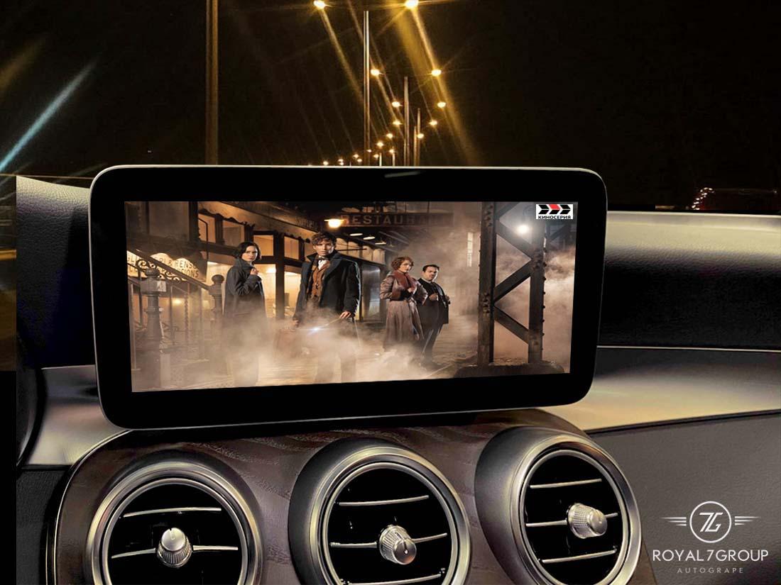 замена мультимедиа автомобиля Mercedes