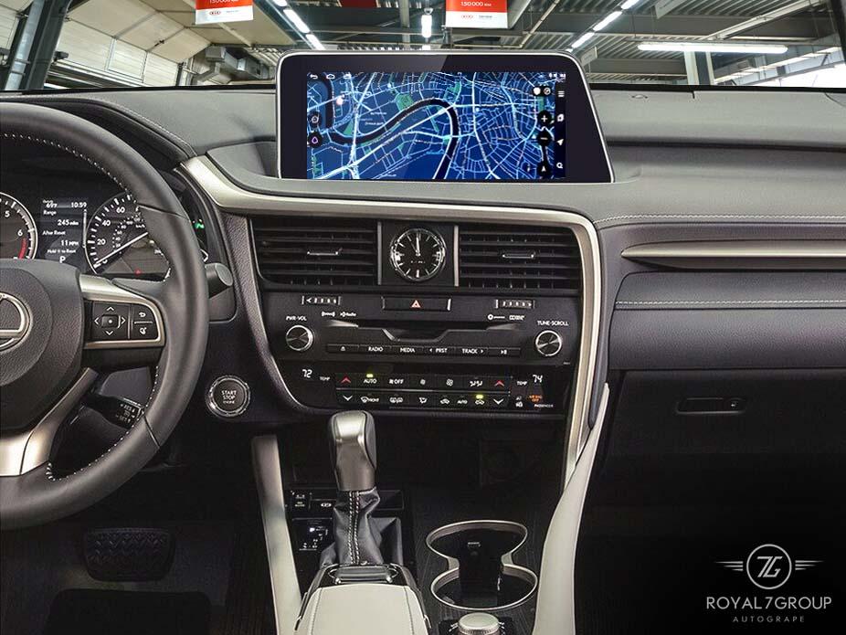замена монитора автомобиля Lexus NX